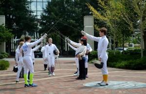 Fencing 2014 Flashmob 057