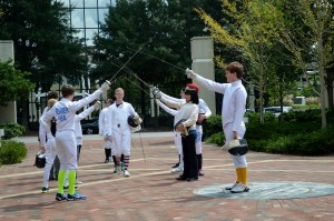 Fencing 2014 Flashmob 059