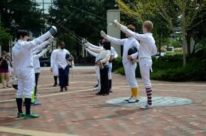 Fencing 2014 Flashmob 061
