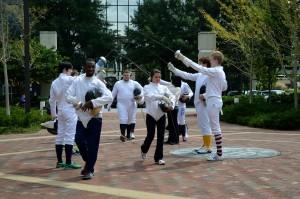 Fencing 2014 Flashmob 062