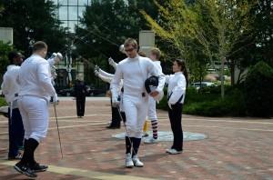 Fencing 2014 Flashmob 067