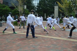Fencing 2014 Flashmob 105